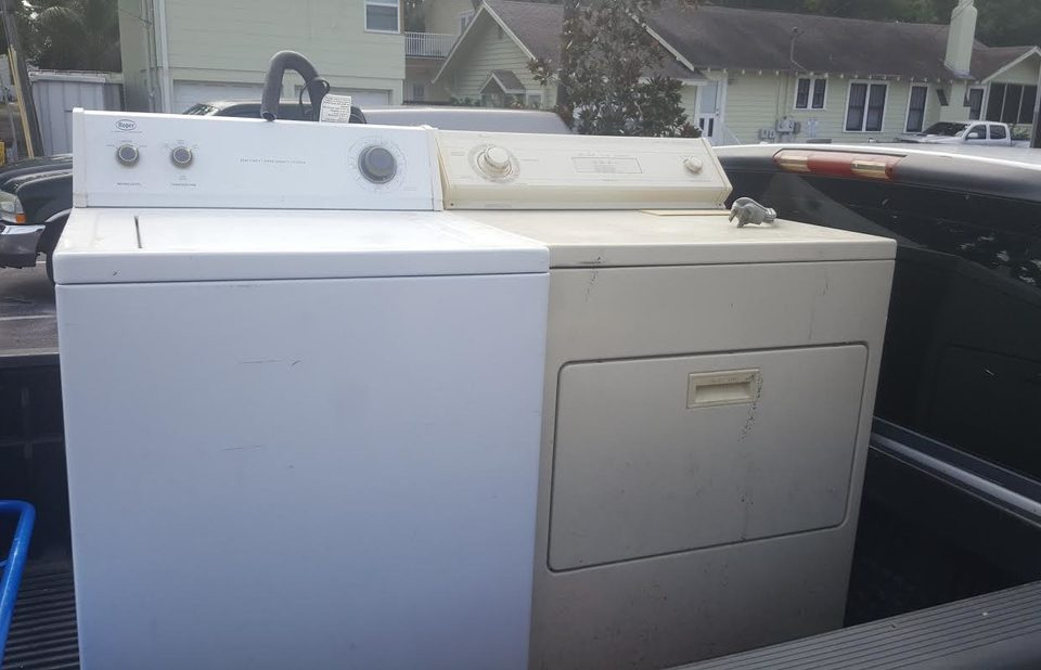 unwanted appliance pick up